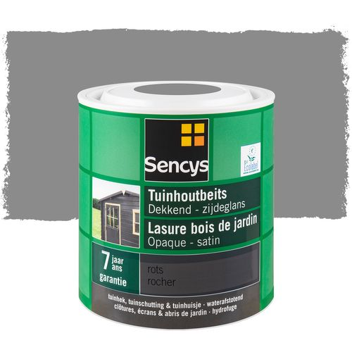 Sencys tuinhoutbeits dekkend zijdeglans rots 2,5L