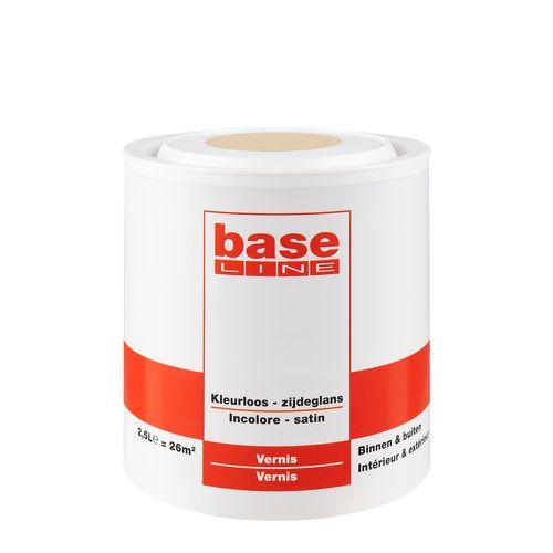 Baseline vernis zijdeglans kleurloos 2,5L