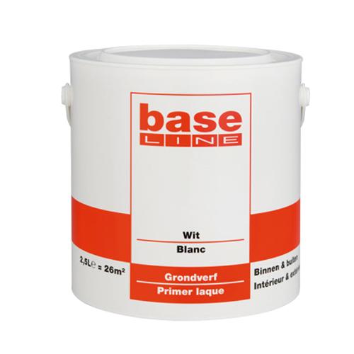 Baseline grondverf wit 2,5 L