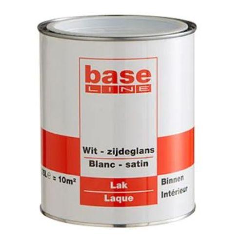 Baseline lak wit satijn 2,5L