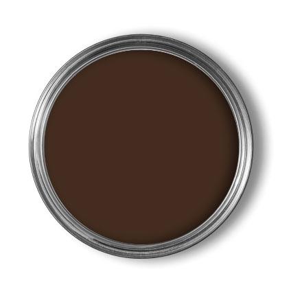 Decomode lak 'Superdekkend' diep bruin satijn 750ml