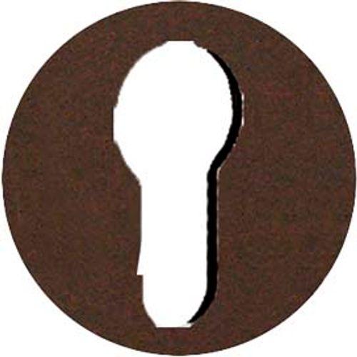 Entrée de clé Linea Bertomani pour cylindre fer rouille -2 pcs