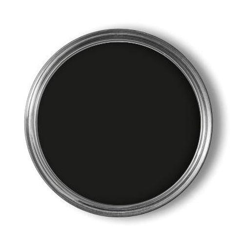 Laque Decomode 'Super Couvrant' noir satin 2,5L