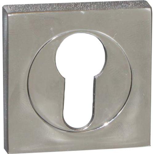 Entrée de clé Linea Bertomani décoratives pour cylindre laiton chromé -2 pcs
