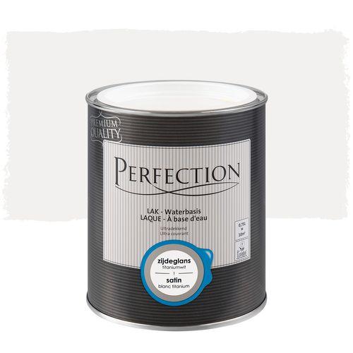 Laque Perfection utra couvrant satin blanc titanium 750ml