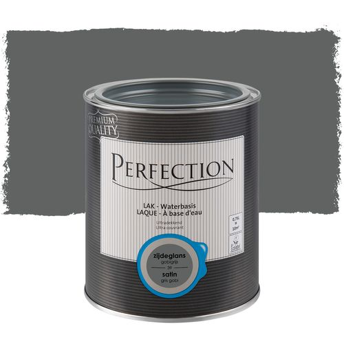 Laque Perfection gris gobi satin 750ml