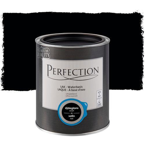 Perfection lak Ultradekkend zijdeglans koolstof zwart 750ml