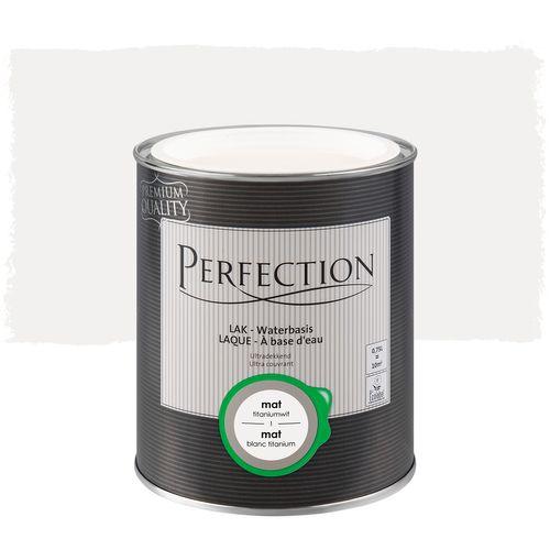 Laque Perfection Ultra couvrant mat blanc titanium 750ml