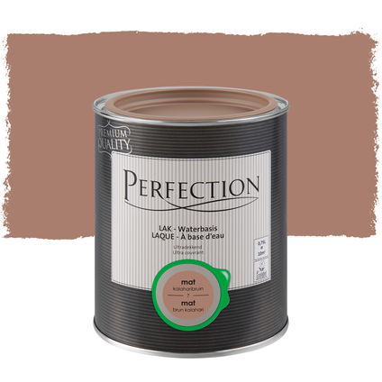 Laque Perfection brun kalahari mat 750ml