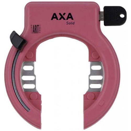 AXA ringslot Solid roze