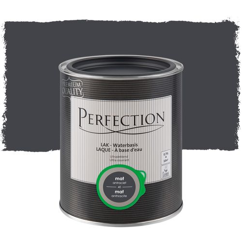 Laque Perfection ultra couvrant mat anthracite 750ml