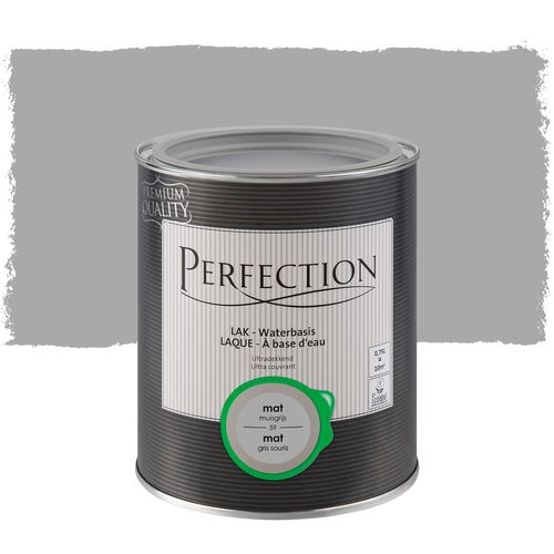 Laque Perfection ultra couvrant mat gris souris 750ml