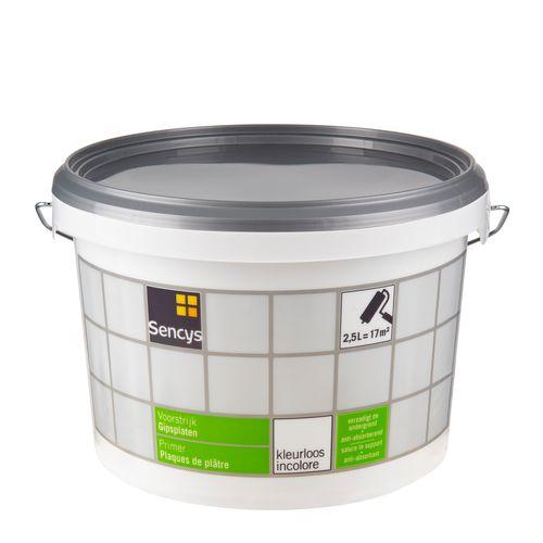 Sencys voorstrijk Gipsplaten transparant 2,5L