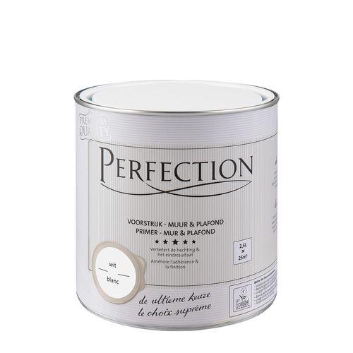Perfection voorstrijk Muur & Plafond wit 2,5L