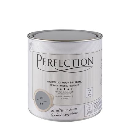 Perfection voorstrijk Muur & Plafond grijs 2,5L
