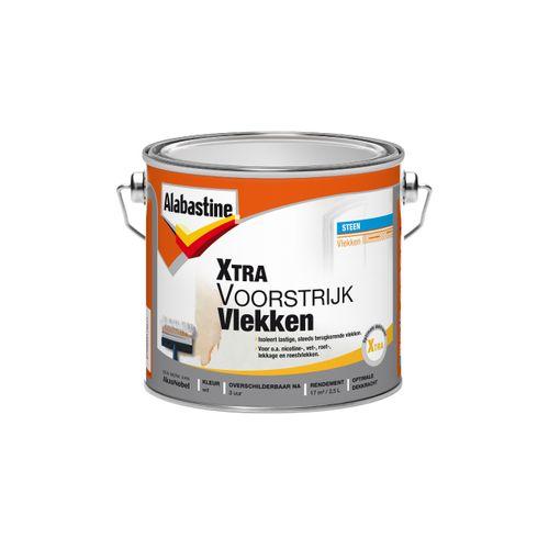 Alabastine voorstrijk Xtra vlekken wit 2,5l