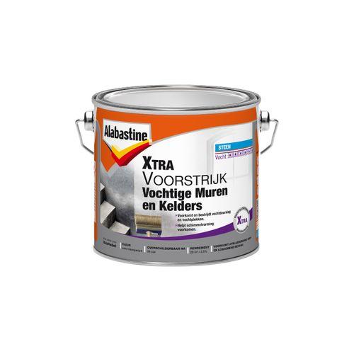 Alabastine voorstrijk Xtra vochtige muren en kelders wit 2,5l