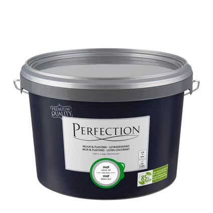 Perfection verf Muur & Plafond Ultradekkend mat RAL 9010 2,5L