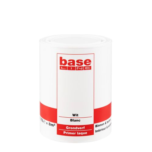Baseline grondverf wit 750ml