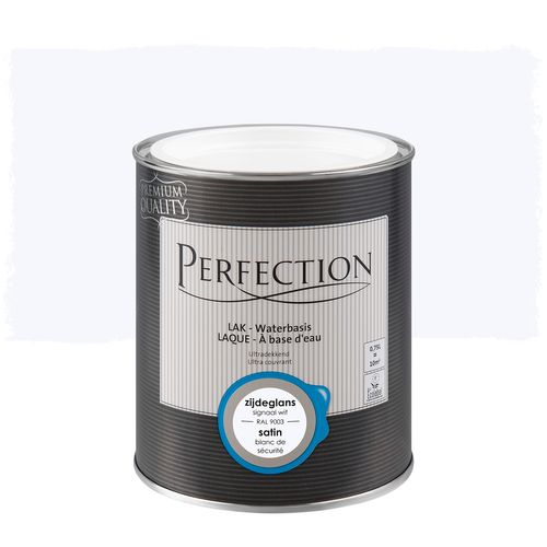 Laque Perfection blanc chaud satin 750ml
