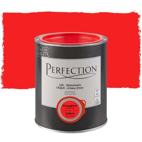 Laque Perfection 'Ultra Couvrant' lipstick red brillant 750ml