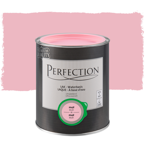 Perfection lak 'Ultra Dekkend' blush mat 750ml