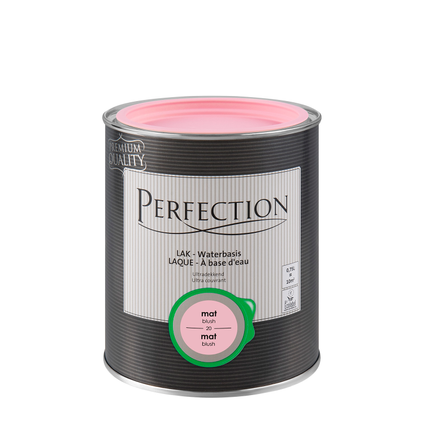 Laque Perfection 'Ultra Couvrant' blush mat 750ml