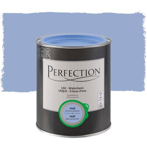 Perfection lak Ultradekkend mat provence blauw 750ml