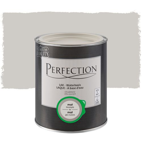 Laque Perfection ultra couvrant mat gris marbre 750ml