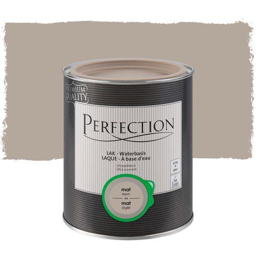Laque Perfection ultra couvrant mat argile 750ml