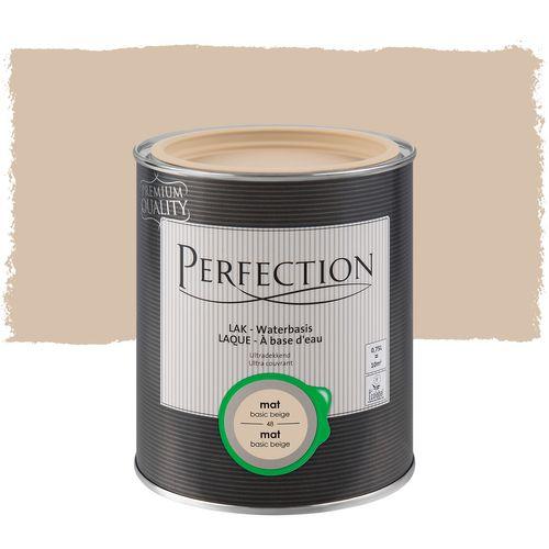 Perfection lak Ultradekkend mat basic beige 750ml