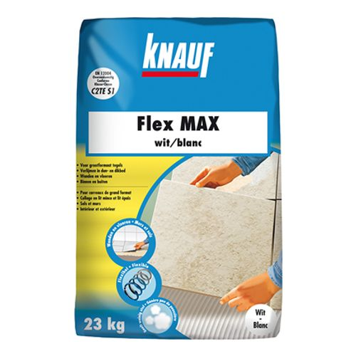 Colle carrelages Knauf 'Flex Max' gris 5 kg