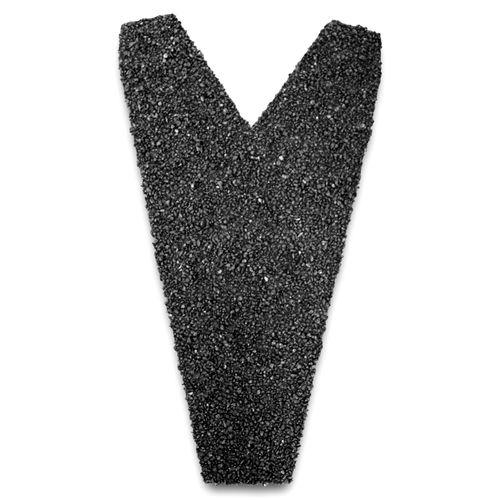 Aquaplan nok-afsluitstuk 'Aqua-pan' metaal antraciet