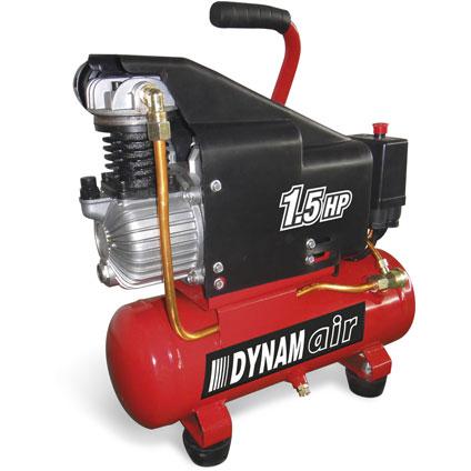 Compresseur Criko 'Dynam Air' 6L + agrafeuse