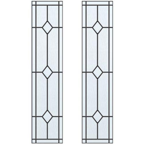 CanDo glas-in-lood Jewel ML 697 201,5 I 211,5 x 83cm 2 stuks