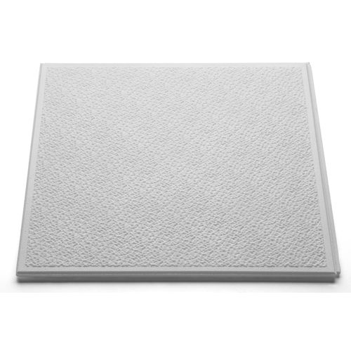 Decoflair plafondtegel 'T130' polystyreen 50 x 50 x 1 cm - 4 stuks