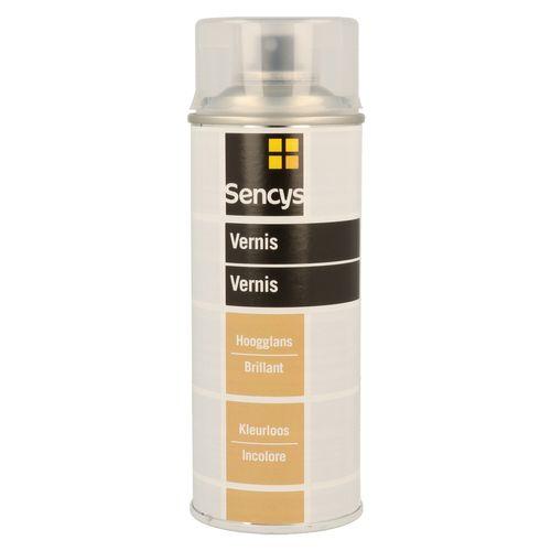 Vernis transparent Sencys brillant 400ml