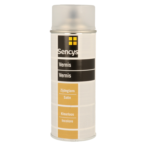 Vernis transparent Sencys satiné 400ml