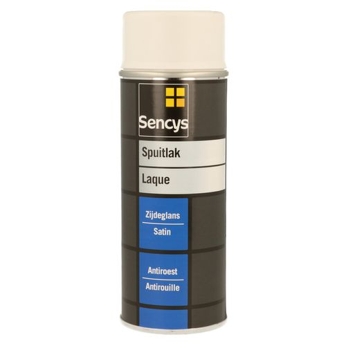 Peinture en spray Sencys blanc pur mat 400 ml