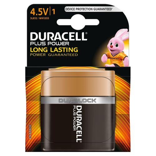 Pile alcaline Duracell Plus Power '1203 - 3LR12' 4,5 V