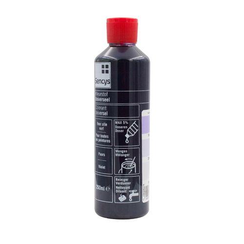 Sencys kleurstof universeel paars 250ml