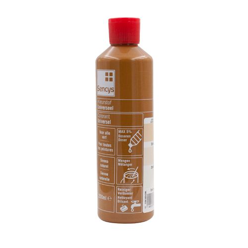 Sencys kleurstof universeel sienna naturel 250ml