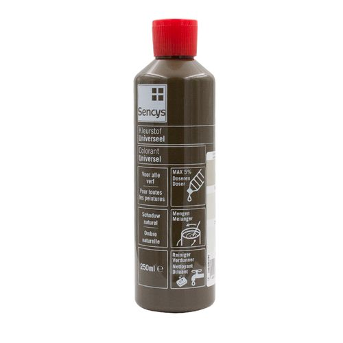 Sencys kleurstof universeel schaduw naturel 250ml