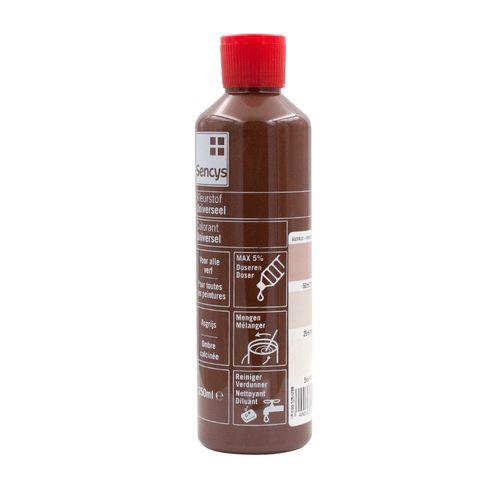 Sencys kleurstof universeel asgrijs 250ml