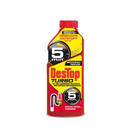 Déboucheur Destop 'Gel Turbo' 500 ml