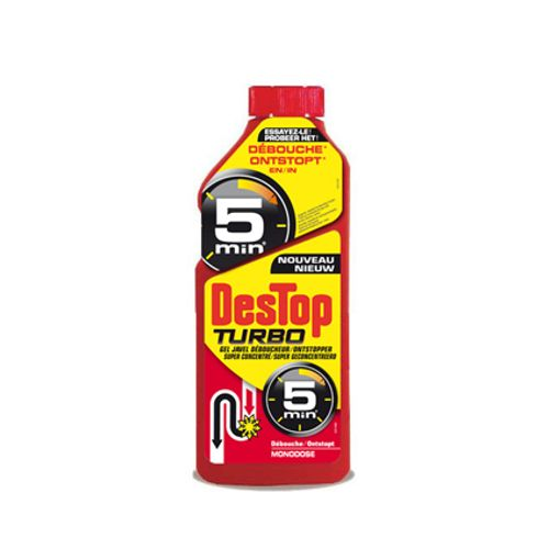 Déboucheur Destop 'Gel Turbo' 500 ml