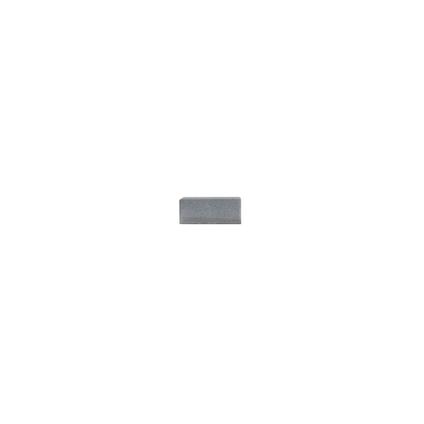 Coeck sierklinker muisgrijs ongetrommeld 15x15x6cm