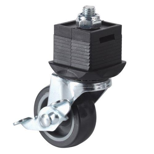 Roulette pivotant avec frein Wolfcraft