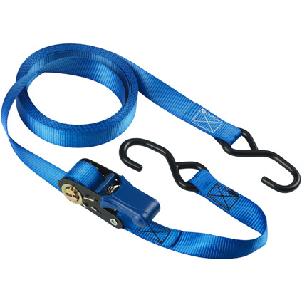Sangle à cliquet Master Lock bleu 5 m x 25 mm