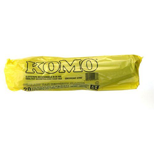 Komo afvalzakken 20 stuks 60L